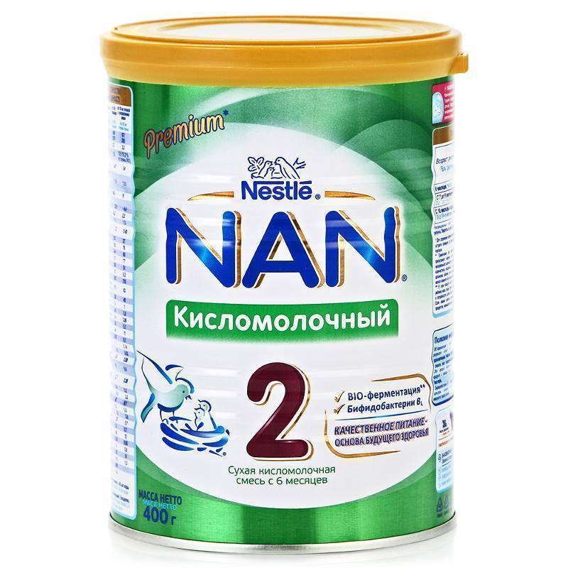Сухая кисломолочная смесь nan фото
