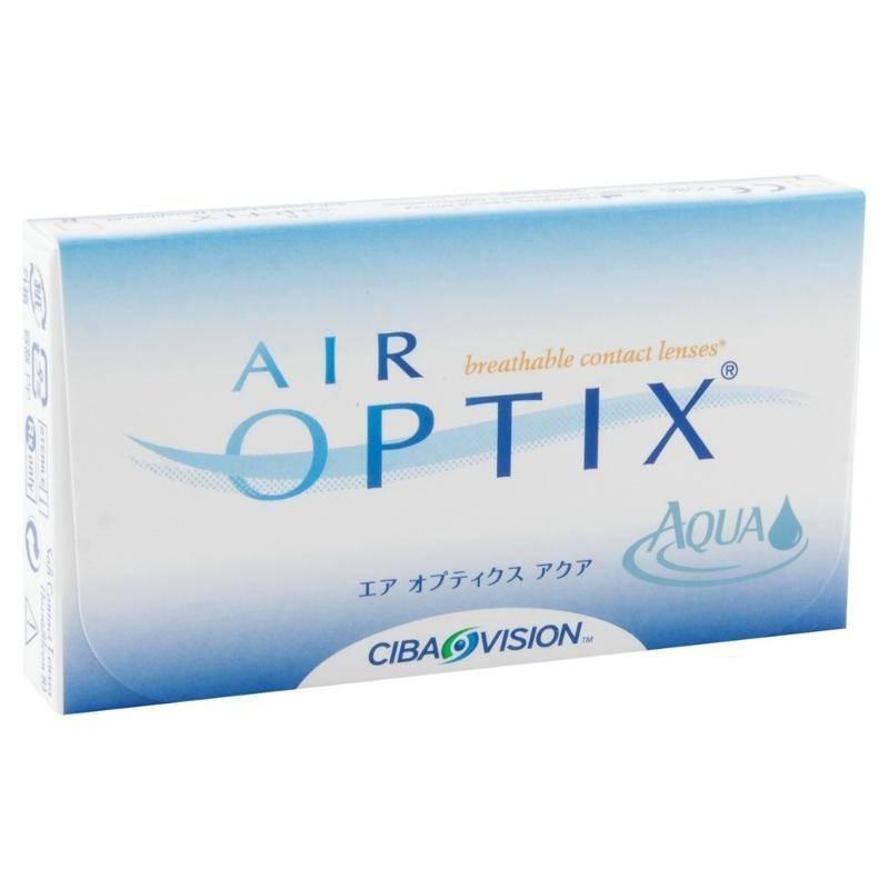 Контактные линзы air optix цена