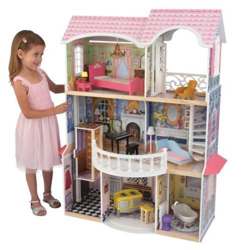 Кукольные домики для девочек sunnytoy